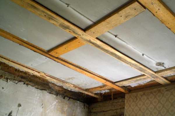 обрешетка под вагонку на потолок