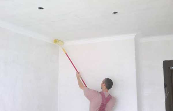 Как побелить потолок своими руками не смывая фото 231