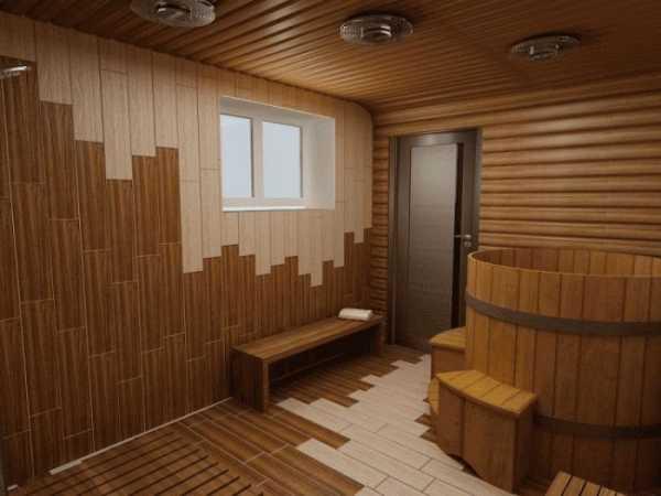 Потолок в помывочной бани